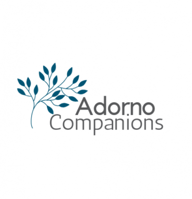 Adorno Companions Tree Logo