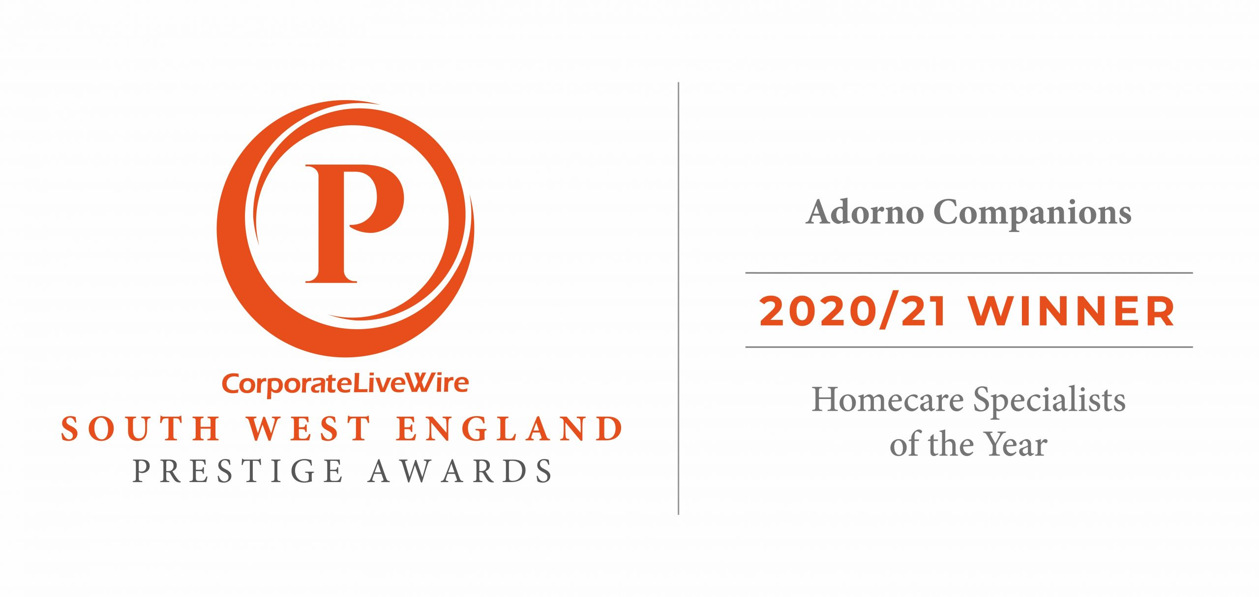 Award Winners: Homecare Specialists of the Year 20/21, Prestige Awards